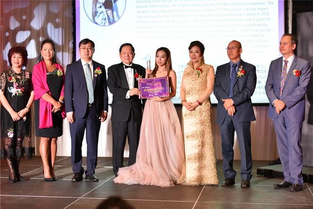 21、Manling Dance & Art Studio Inc创办人Julia jiang 获中加舞蹈交流特殊贡献奖