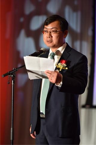 3、中国驻多伦多副总领事庄耀东致辞